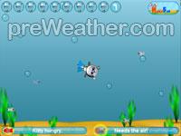 Cat Diver - Flash game