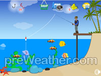 Lucky Fishing - Flash game