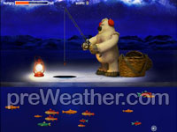 Winter Fishing - Flash game